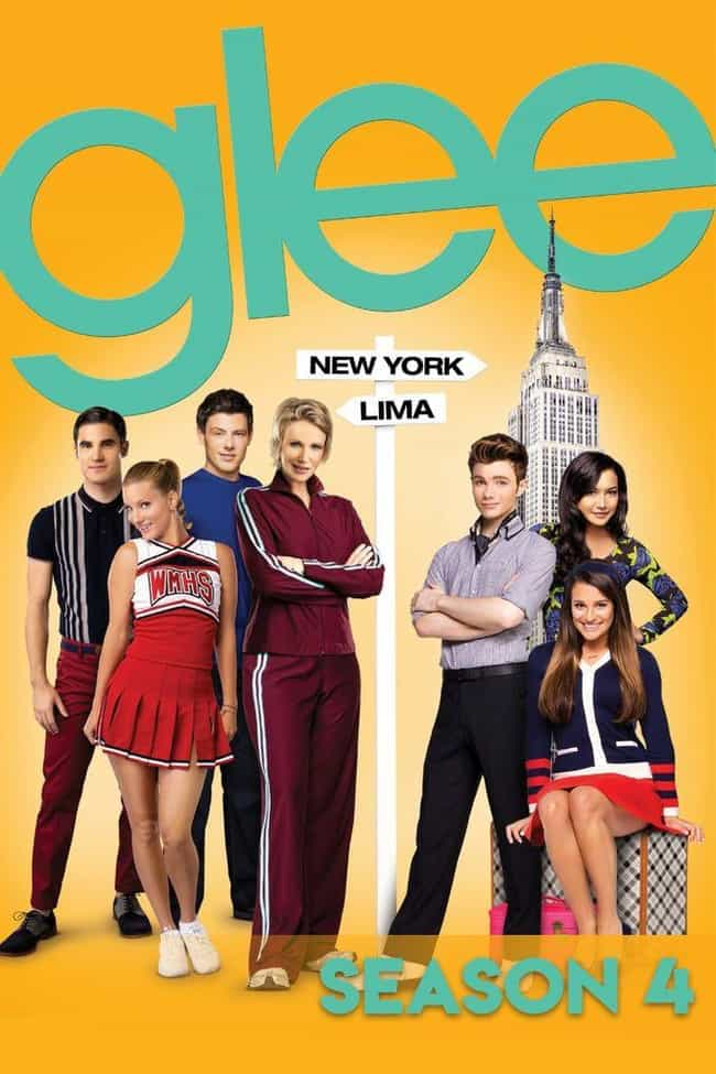 Glee - Season 4 is listed (or ranked) 4 on the list The Best Seasons of 'Glee'
