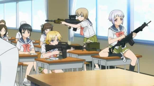 Upotte!! is listed (or ranked) 1 on the list The 15 Best 'Military Moe' Anime About Cute Girls In The Army