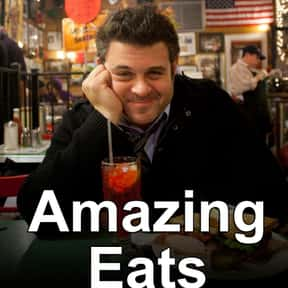 Amazing Eats is listed (or ranked) 13 on the list The Best Food Travelogue TV Shows