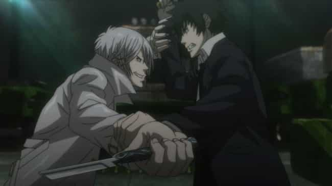 Psycho-Pass is listed (or ranked) 4 on the list The Best 'Cat & Mouse' Anime About Battling Minds