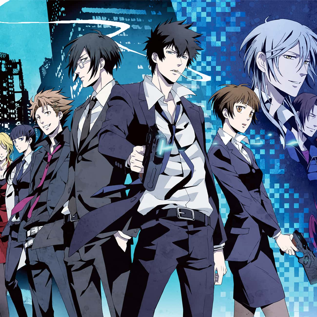 Psycho-Pass is listed (or ranked) 3 on the list What To Watch If You Love 'Death Note'