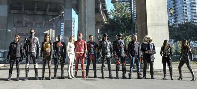 Arrow is listed (or ranked) 3 on the list Popular Nerdy Franchises You're Too Embarrassed To Admit You Hate