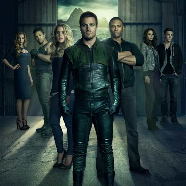 Arrow is listed (or ranked) 4 on the list All The CW Shows On Netflix