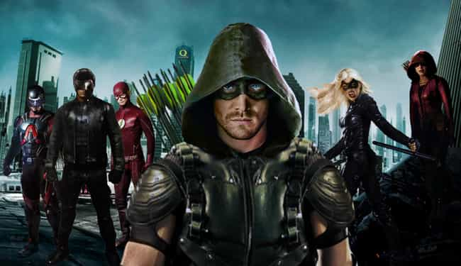 Arrow is listed (or ranked) 7 on the list Current TV Shows with the Best Costumes