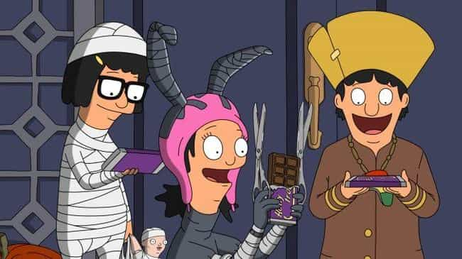 Full Bars is listed (or ranked) 2 on the list The Best Halloween Episodes On 'Bob's Burgers'