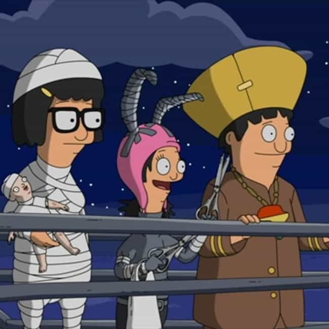 Full Bars is listed (or ranked) 2 on the list The Best Halloween Episodes On Bob's Burgers