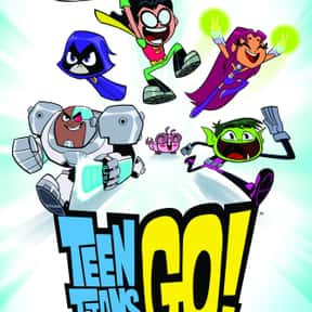 Teen Titans Go! is listed (or ranked) 5 on the list The Most Annoying Kids Shows Currently On TV
