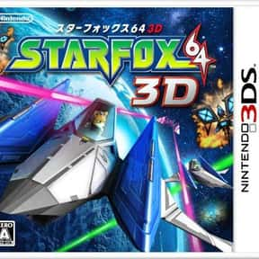 Star Fox 64 3D is listed (or ranked) 5 on the list The Best Star Fox Games