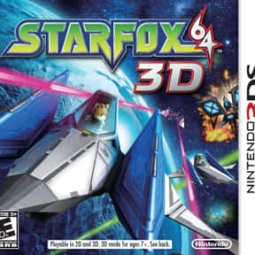 Star Fox 64 3D is listed (or ranked) 15 on the list The Best Nintendo 3DS Games of All Time, Ranked by Fans
