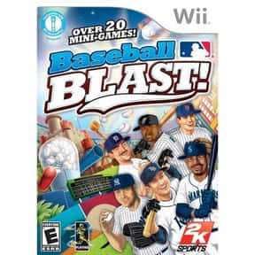 Baseball Blast is listed (or ranked) 7 on the list All Wii Baseball Games, Ranked Best to Worst