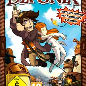 Deponia is listed (or ranked) 15 on the list The Best Point and Click Adventure Games Of All Time