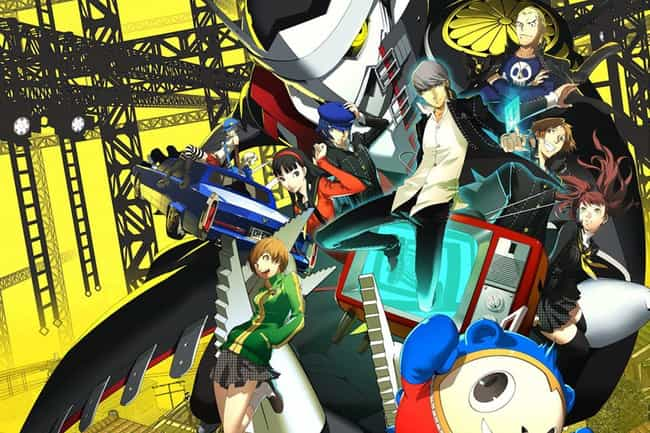 Persona 4 Golden is listed (or ranked) 4 on the list The 15 Best Anime RPGs You Can't Afford To Miss