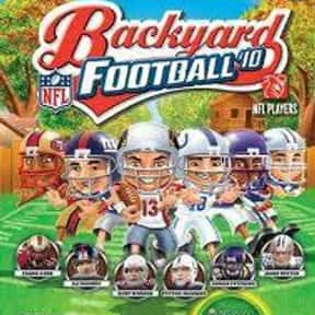 Backyard Football '10 is listed (or ranked) 12 on the list The Best Xbox 360 Football Games