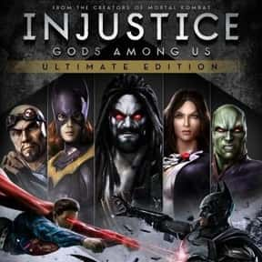 Injustice: Gods Among Us is listed (or ranked) 3 on the list The Best Xbox 360 Fighting Games of All Time