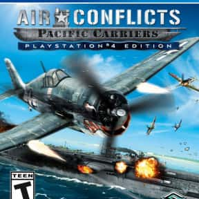 Air Conflicts: Pacific Carrier is listed (or ranked) 18 on the list The Best PlayStation 4 Simulation Games