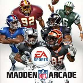 Madden NFL Arcade is listed (or ranked) 11 on the list The Best Xbox 360 Football Games