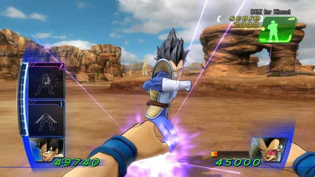 Dragon Ball Z for Kinect... is listed (or ranked) 1 on the list The 15 Worst Anime Video Games That Are Laughably Bad