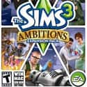 The Sims 3: Ambitions is listed (or ranked) 39 on the list The Best God Games of All Time
