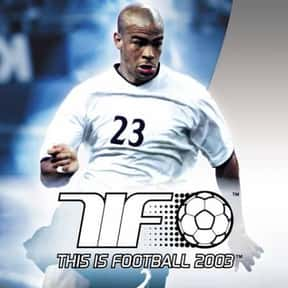 This is Football 2003 is listed (or ranked) 18 on the list The Best PlayStation 2 Soccer Games