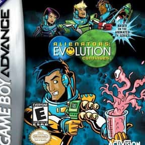 Alienators: Evolution Continue is listed (or ranked) 16 on the list Nintendo Game Boy Advance Games