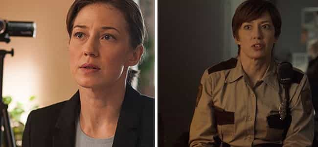 Carrie Coon is listed (or ranked) 2 on the list 35 Times You've Seen the Actors from Fargo Before