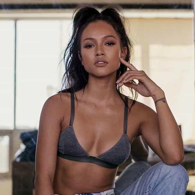Karrueche Tran is listed (or ranked) 4 on the list Rob Kardashian Loves and Hookups