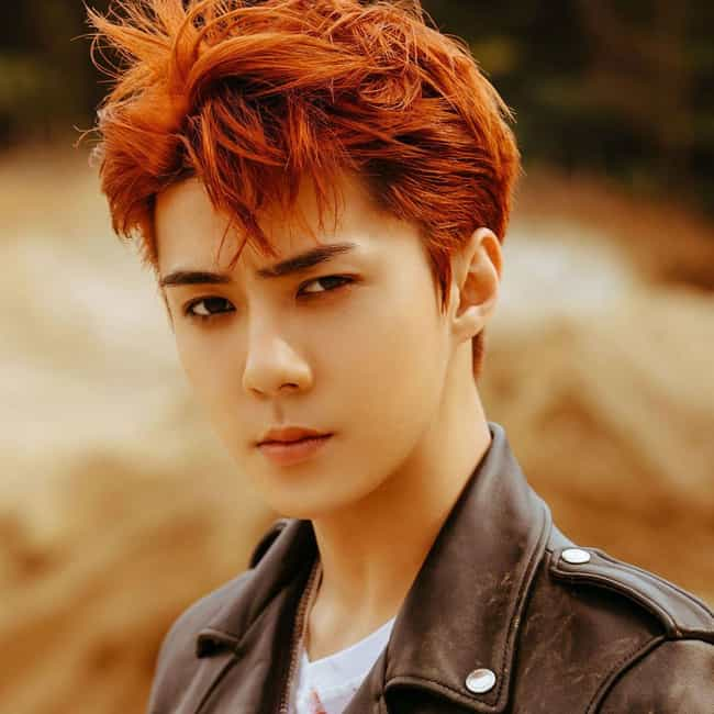 Sehun is listed (or ranked) 3 on the list The Best Male Visuals In K-pop Right Now