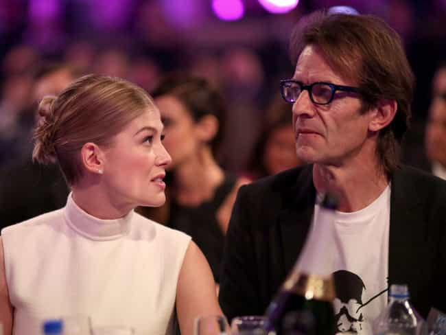 Robie Uniacke is listed (or ranked) 1 on the list Rosamund Pike Loves and Hookups