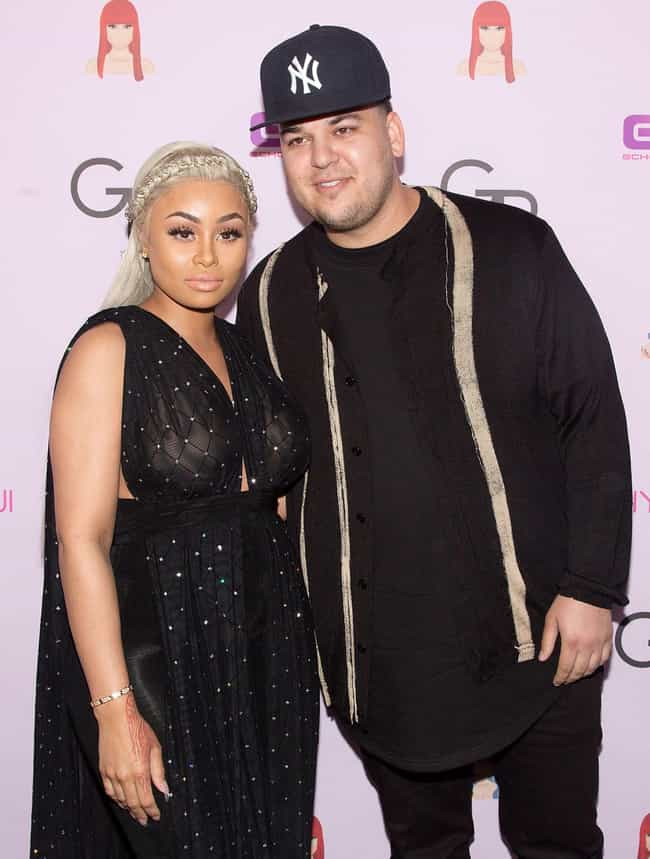 Blac Chyna is listed (or ranked) 3 on the list Rob Kardashian Loves and Hookups