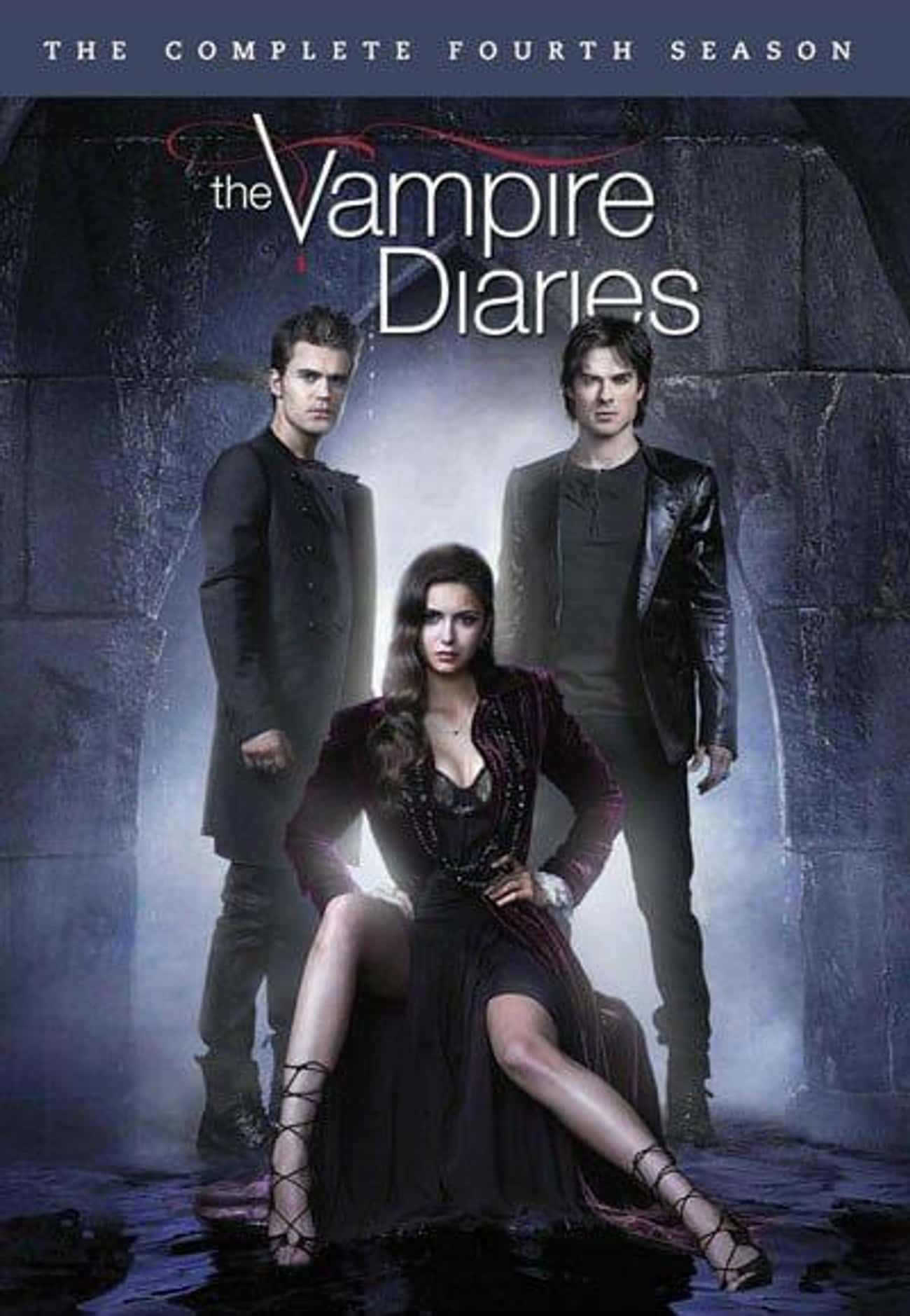 The Vampire Diaries - Season 4 is listed (or ranked) 4 on the list The Best Seasons of 'The Vampire Diaries'