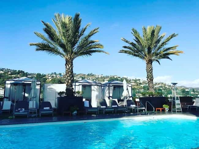 The London West Hollywood is listed (or ranked) 2 on the list The Best Rooftop Pools in Los Angeles
