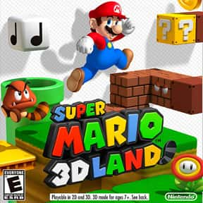 Super Mario 3D Land is listed (or ranked) 3 on the list The Best Nintendo 3DS Games of All Time, Ranked by Fans