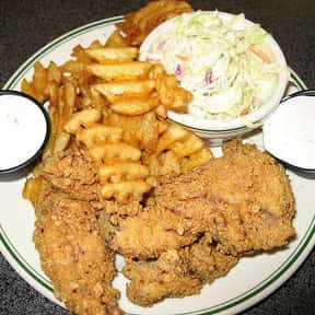 Chicken fingers is listed (or ranked) 6 on the list The Most Delicious Bar & Pub Foods, Ranked