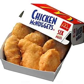 McDonald's Chicken McNuggets is listed (or ranked) 2 on the list The Best Fast Food Chicken Nuggets