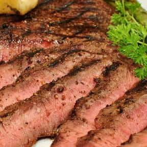 Flat iron steak is listed (or ranked) 16 on the list The Best Cut of Steak