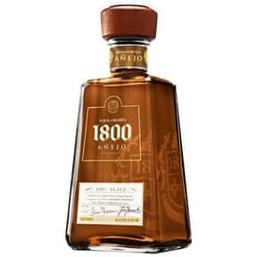 1800 Tequila is listed (or ranked) 8 on the list Tequila Test
