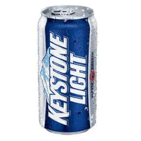 Keystone Light  is listed (or ranked) 7 on the list The Best Beers to Chug