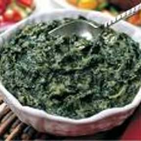 Sauteed Spinach is listed (or ranked) 20 on the list The Most Delectable Side Dishes For Pork Chops, Ranked