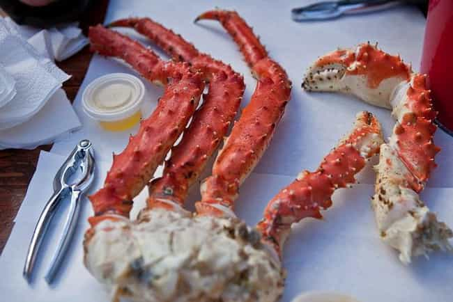 Alaskan King Crab is listed (or ranked) 1 on the list The Best Kinds of Crab to Eat