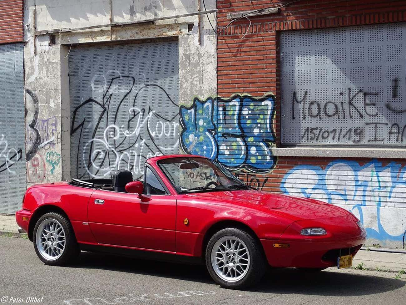 Mazda Miata is listed (or ranked) 1 on the list The Best Project Cars For Beginners And Expert Mechanics