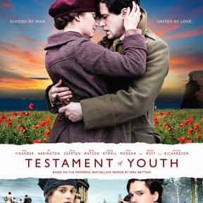 Testament of Youth is listed (or ranked) 25 on the list The Best World War 1 Movies