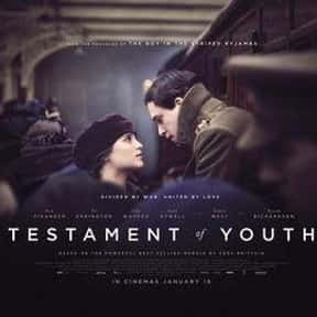 Testament of Youth is listed (or ranked) 5 on the list The Best Alicia Vikander Movies
