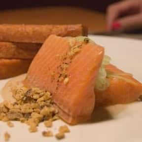 Trout is listed (or ranked) 13 on the list The Best Pescatarian Foods