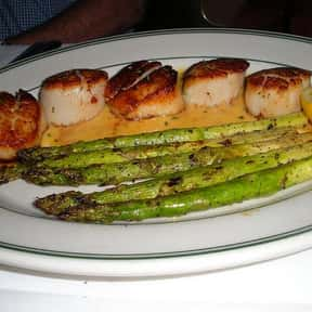 Scallops is listed (or ranked) 3 on the list The Best Pescatarian Foods
