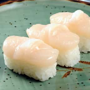 Scallops is listed (or ranked) 4 on the list The Best Fish for Sushi