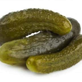 Pickles is listed (or ranked) 17 on the list The Best Picnic Foods