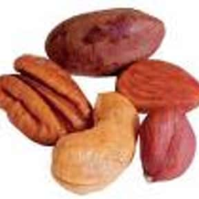 Nuts is listed (or ranked) 4 on the list The Best Antioxidant Foods