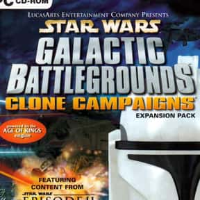 Star Wars: Galactic Battlegrou is listed (or ranked) 13 on the list The Best Age Of Empires Games
