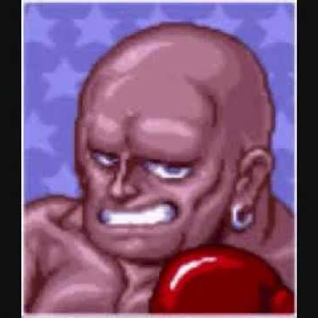 Rick Bruiser is listed (or ranked) 4 on the list All Punch Out Characters: List of Punch Out Game Characters