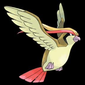 Pidgeot is listed (or ranked) 6 on the list The Best Normal Pokemon of All Time